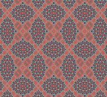 Tribal Tile Rust by AllyNCoxon
