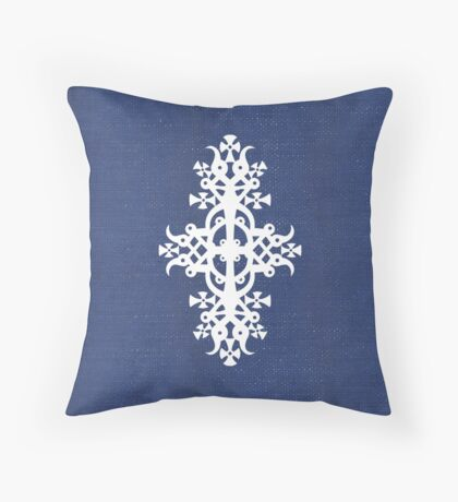Ethiopian Cross 3 Throw Pillow