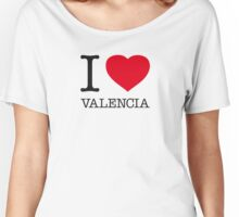 I ♥ VALENCIA Women's Relaxed Fit T-Shirt