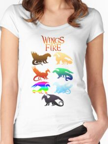 Wings of Fire Tribes Women's Fitted Scoop T-Shirt