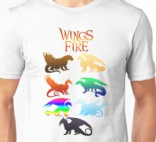 Wings of Fire Tribes Unisex T-Shirt