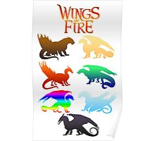 Wings of Fire Tribes Poster