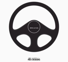 Nissan Silvia S13 Steering Wheel (Black)  by RexDesigns