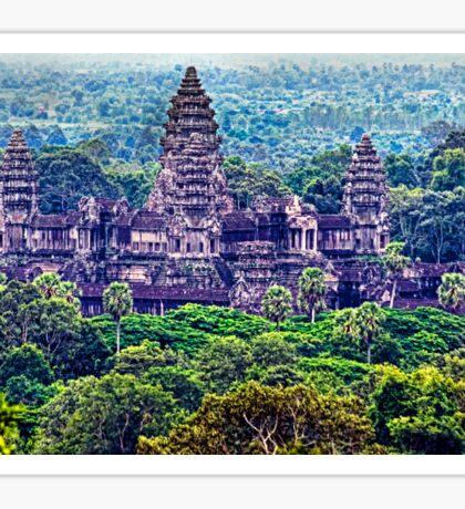 Angkor Wat. Sticker