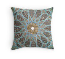 Complex Mosaic Ceiling Pattern - Cases, Prints and Pillows Throw Pillow