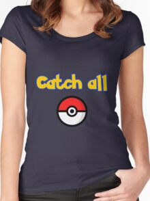 catch all Women's Fitted Scoop T-Shirt