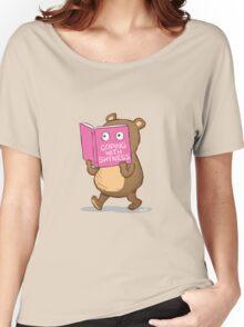 Shy Bear Women's Relaxed Fit T-Shirt