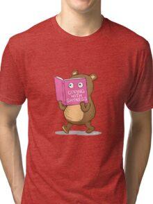 Shy Bear Tri-blend T-Shirt