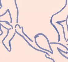 The dance by Matisse Sticker