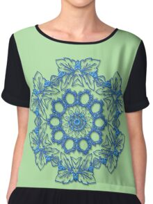 Butterfly abstract Chiffon Top
