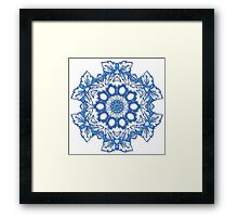 Butterfly abstract Framed Print
