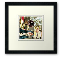 Roisin Murphy Watercolor and Ink Sketch Artwork Framed Print