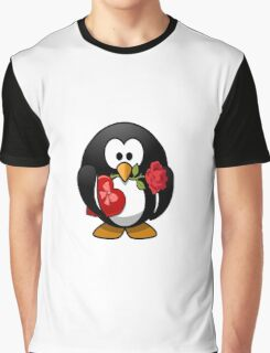 penguin in love Graphic T-Shirt