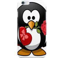 penguin in love iPhone Case/Skin