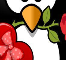 penguin in love Sticker