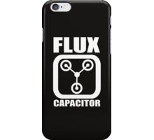 FLUX CAPACITOR Funny iPhone Case/Skin