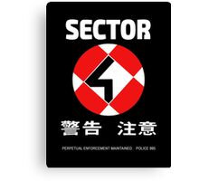 Sector 4 Canvas Print