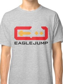 Eagle Jump - Black Classic T-Shirt