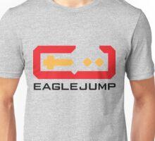 Eagle Jump - Black Unisex T-Shirt