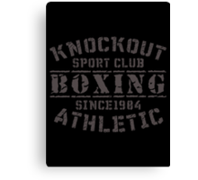 Sport Club Canvas Print