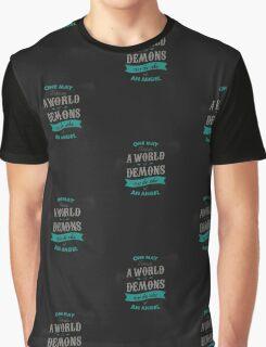 WORLD OF DEMONS Graphic T-Shirt