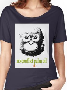 NO CONFLICT PALM OIL Women's Relaxed Fit T-Shirt