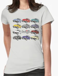 Renault Twingo Womens Fitted T-Shirt