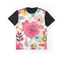 Summer Flora Graphic T-Shirt