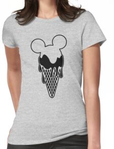 Mickey Ice Creams Womens Fitted T-Shirt