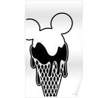 Mickey Ice Creams Poster