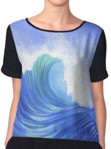 Mighty Wave Chiffon Top