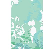 Abstract Painting Flower  Photographic Print