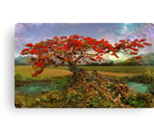 Strontium Tree Part One Canvas Print