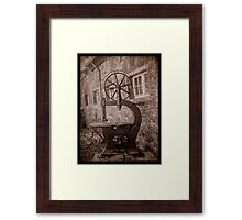 Dortmund, Vintage Machines Framed Print