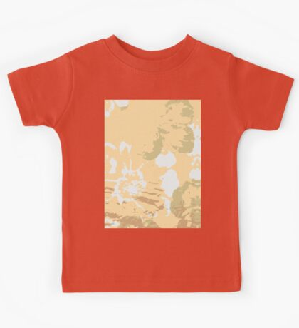 Abstract Pastel Flower Kids Tee