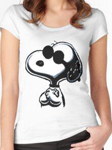 Joe Cool Women's Fitted Scoop T-Shirt