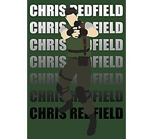 Chris Redfield  Resident Evil Remake version Photographic Print