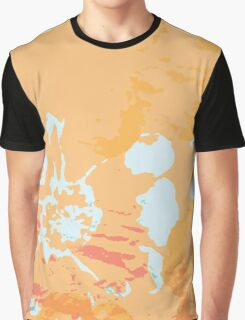 Abstract Flower Painting Graphic T-Shirt