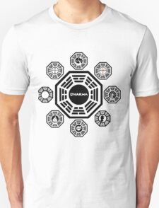 Lost Dharma Station Unisex T-Shirt