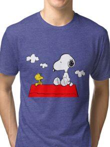Snoopy & Woodstock Tri-blend T-Shirt