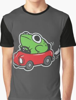 MOTHER 3 FROG IN A CAR - earthbound Graphic T-Shirt