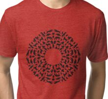 puppy mandala lab  Tri-blend T-Shirt