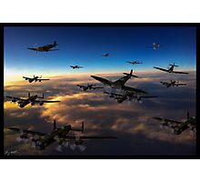 Crowded Skies Photographic Print