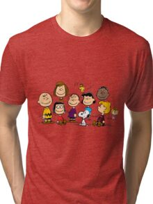 All Peanuts Together Tri-blend T-Shirt