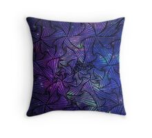 Crazy Triangle v.2 Throw Pillow