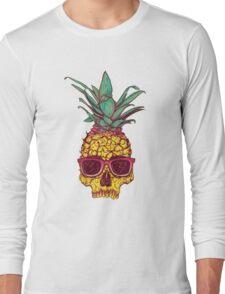 Skull Pineapple Long Sleeve T-Shirt
