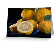When Life Hands You Lemons I Greeting Card