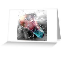 water drip Greeting Card