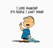 Linus Mankind Quote Unisex T-Shirt