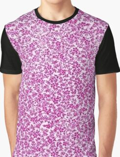 Vintage Floral Pink Graphic T-Shirt